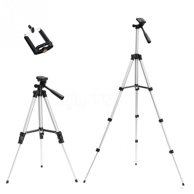 Tripods camera stand cam smartphone mobile phone holder monopod tripe extension stick tripod for camera standaard