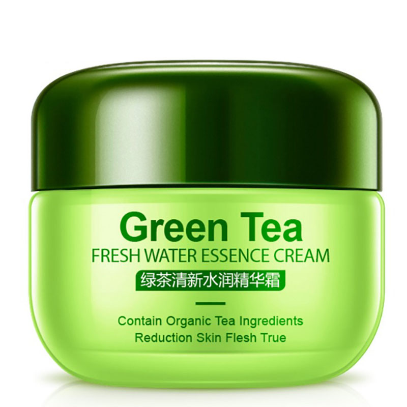 Green Tea Face Cream Acne Scar Removal Cream For Face Skin Care Whitening Cream Snail Stretch Marks Nourishing For Face