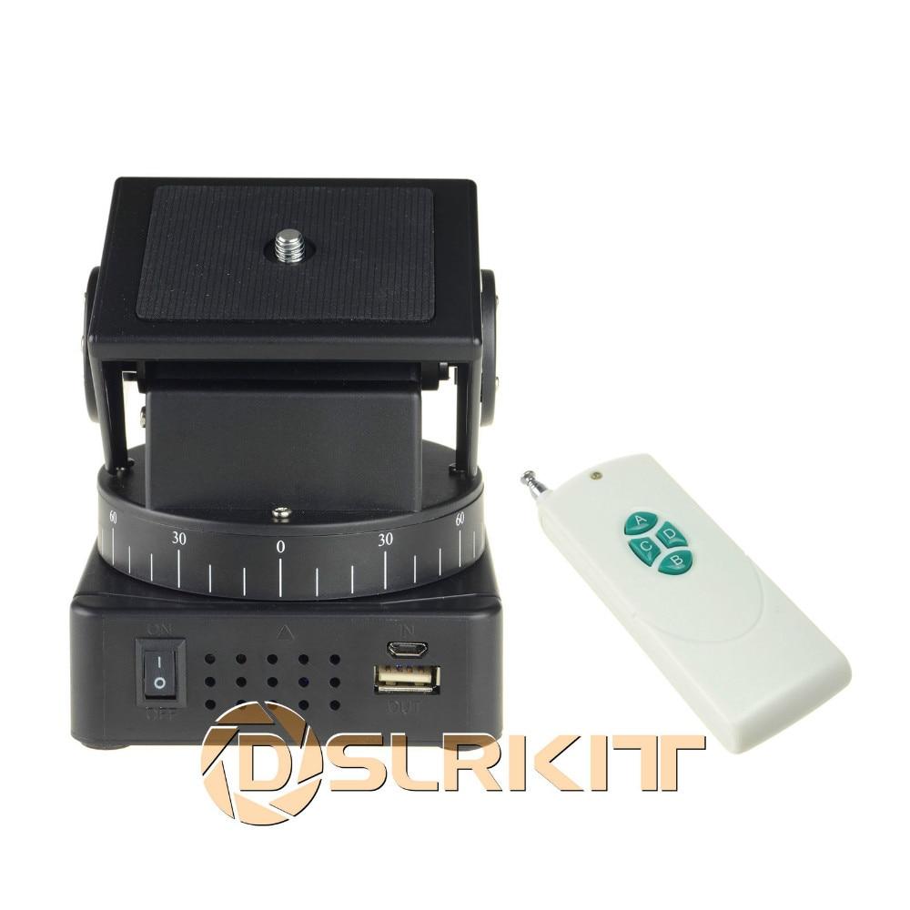 YT-260 Remote Control Motorized Pan Tilt for Mobile Phones Gopro Cameras