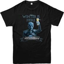 """""""Winter Is Here – Winter Weissbier"""" beer men's shirt"""