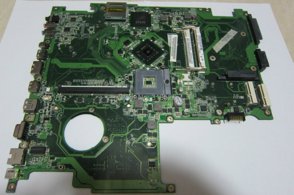 ФОТО Hot sale! for acer 8935 Laptop Motherboard PN:MBPDB06001/DA0ZY8MB6D0 GM45 DDR3 High quanlity 50% shipping off