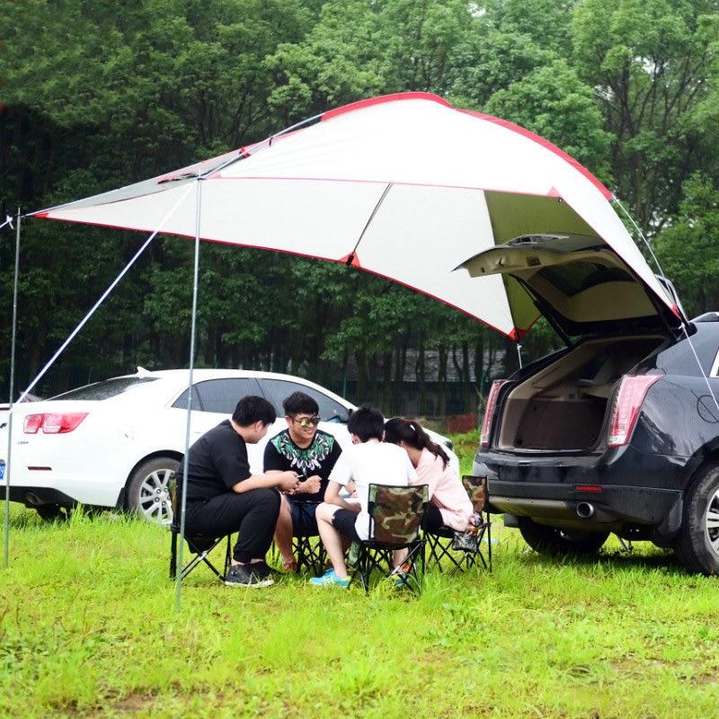 Открытый 3 4 человек само Вождение туристический автомобиль палатка портативный алюминиевый сплав полюс палатка солнцезащитный Водонепроницаемый Кемпинг Пикник Рыбалка|Палатки|   | АлиЭкспресс