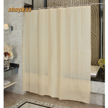 купить Beige Yellow Bathroom Shower Bath Shade Proof Partition Curtain Polyester Fabric Thickening Mouldproof Bathroom Hanging Curtain по цене 1178.07 рублей