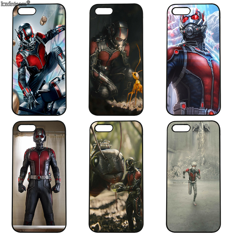 Marvel Ant Man Superhero Cell Phone Cases Hard PC Cover Fitted for iphone 8 7 6 6S Plus X 5S 5C 5 SE 4 4S iPod Touch 4 5 6 Shell