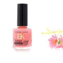 18ml BK Brand Calcium Base Coat Nail Polish Primer Protect The Nails Professional Enamel Nail Art Varnish Cuticle Oil Lacquer