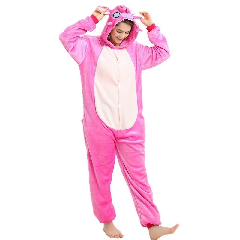 inverno 2019 bonito animal pijamas conjuntos de pijamas dos desenhos animados pijamas ponto unicornio kigurumi unicornio