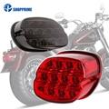Motorrad Led Brems Rücklicht Für Dyna Fat Boy FLSTF Nacht Zug Touring Softail Sportster Road King Electra Road Glide| |   -