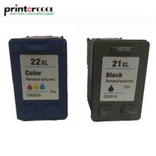 einkshop 21 22 Remanufactured Ink Cartridge Compatible for hp Deskjet 3915 3920 D1320 D1455 F2100 F2280 F4180 printer