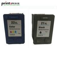 einkshop 21 22 Remanufactured Ink Cartridge Compatible for hp 21 22 for Deskjet 3915 3920 D1320 D1455 F2100 F2280 F4180 printer