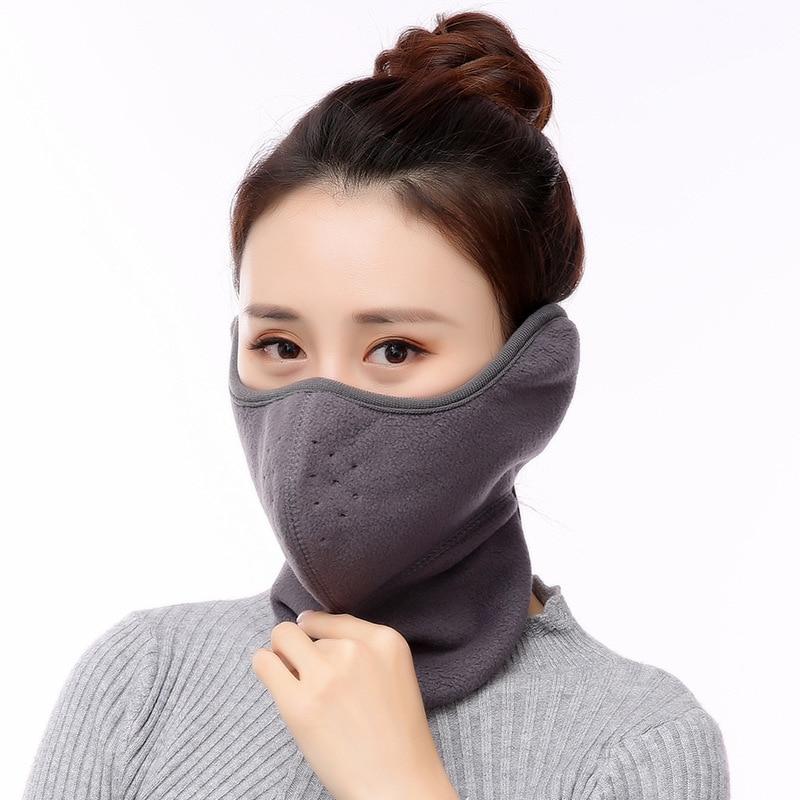 10pcs/Pack Winter Mask Ladies Earmuffs Bib New Earmuffs Dustproof Warm Winter Riding Earmuffs Mask New Masks For Winter