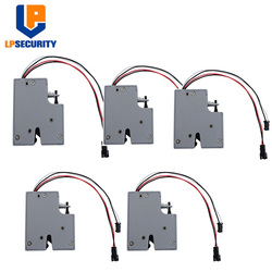 5 sztuk szafka Smart blokada elektromagnetyczna szeroki voultage 3.3 5 V 2A ze sprzężeniem zwrotnym do przechowywania półki| |   -