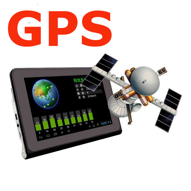 "Best GPS Navigation 7"" Capacitive Screen android Tablet with dvrs Recorder FM WIFI Truck vehicle gps Built in 8GB Free Map"