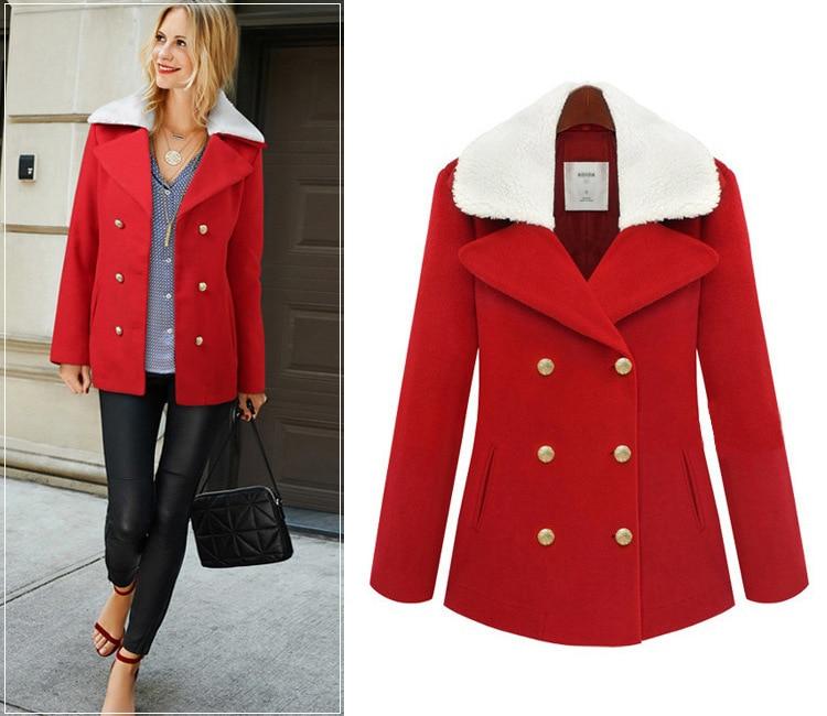Popular Womens Red Coats Winter-Buy Cheap Womens Red Coats Winter ...