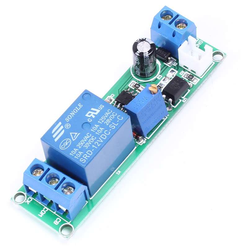12v No Trigger Delay Relay Module Timer Control Board