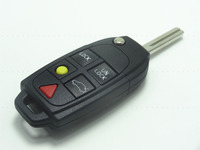 5 Button Remote Key Fob Shell Case For Volvo S60 S80 V70 XC70 XC90 (5 Button) Car key shell, auto parts 1pc