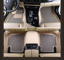 Alfombras de coche del coche del automóvil caliente set almohadilla del pie de cuero para ROVER 75 MG MG TF 3/6/7/5 Maserati Quattroporte Spyder Coupe Maybach