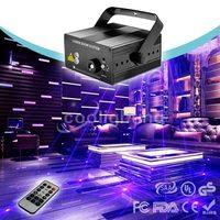 High Quality 24 Patterns Latest Designs Red And Blue Laser Mini Laser Lights KTV Indoor Stage