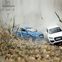 1 36 Boxed 5 Inch Simulation Alloy Sports Car Model Audi Q7 SUV Open The Door