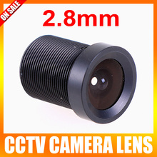 Board 2.8mm Lens 120 Degree CCTV Lens Wide Angle Security Lens  For CCTV Security Camera