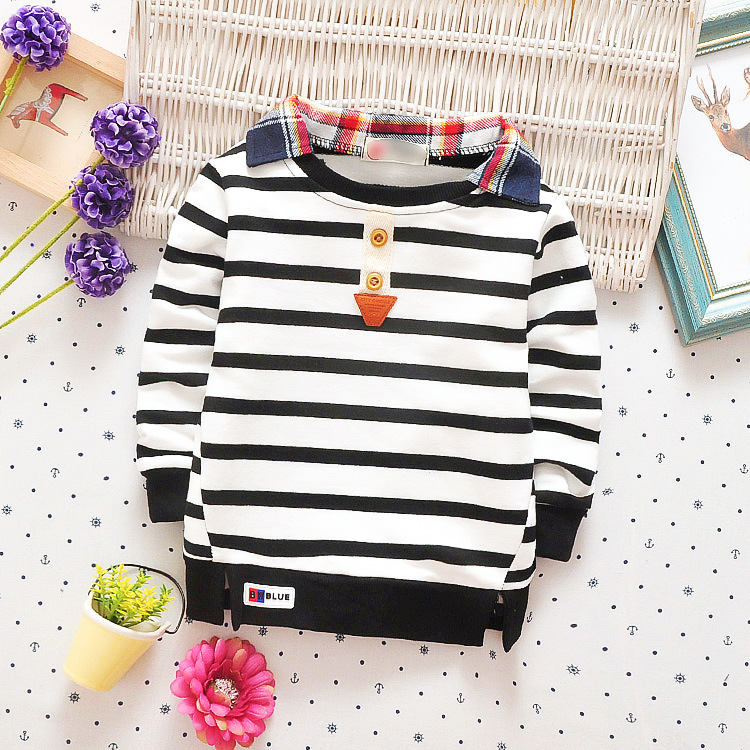 High-Quality-Kids-Boys-Polo-Shirt-Baby-Boy-Clothes-Spring-Long-Sleeve-Cotton-Striped-Detachable-Collar-Tshirt-Toddler-6-24month-2