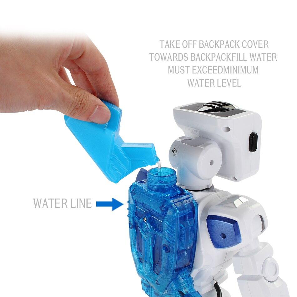 D'eau Au Volant Danse RC Robot Avec Anglais Musique Intelligente Télécommande Figurines Jouets Pour Enfants Enfants Cadeau D'anniversaire - 2