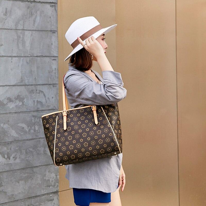 Europe femmes luxe en cuir sacs à main Top-poignée sacs fourre-tout de haute qualité luxe sacs à bandoulière décontracté fourre-tout Designer célèbre marque