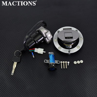 Motorcycle Accessories Ignition Switch Lock Fuel Gas Cap Key Set For YAMAHA TZR125 TZM150 TZR150 TDM850