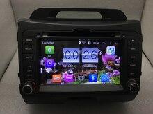 Para Kia Sportage r 2010-2013 android 6.0 quad core 1024*600 Reproductor de DVD de 16 gb cámara mapa 3g/wifi radio del gps del envío libre