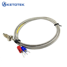 1m Thread Spade Terminals Thermocouple cable screw type K thermocouple