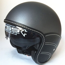 WANLI Retro Motorcycle font b Helmet b font 3 4 Open Face font b Helmet b
