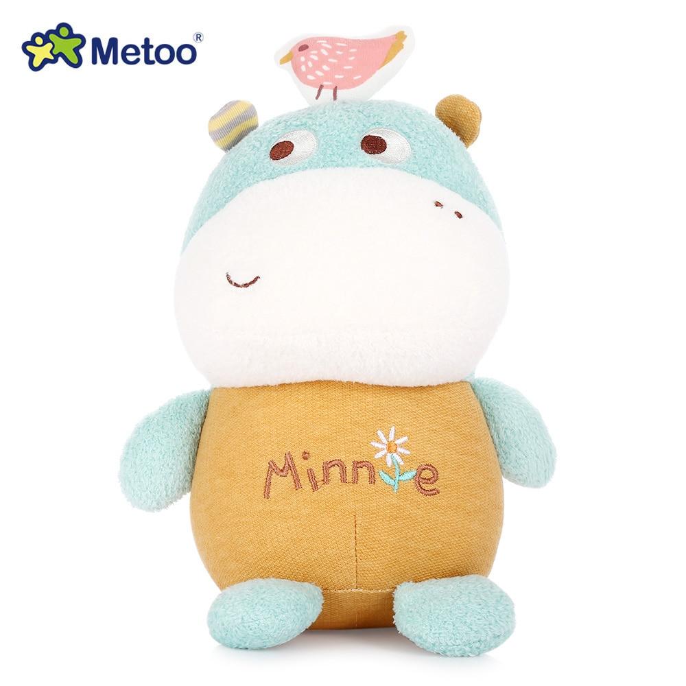 Metoo Cute Magic Animal Stuffed Plush Doll Comforter Toy 7 Inch Toys For Girls Children Birthday Christmas Gift Bear Kawaii Doll