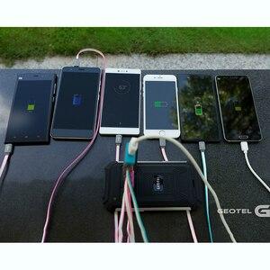 Image 3 - Geotel G1 قوة البنك الهاتف الذكي 5.0 بوصة Andriod 7.0 MTK6580A رباعية النواة 2GB RAM 16GB ROM 8.0MP كاميرا 7500mAh GPS 3G الهاتف المحمول