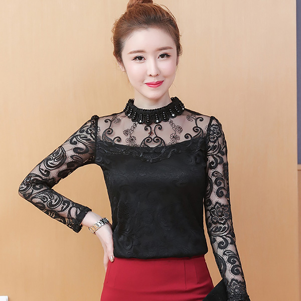 595f5938fc1  +  FGLAC Women lace blouse New Fashion casual long sleeve Autumn women tops  Sexy Hollow out Lace tops plus size blusas-in Blouses   Shirts from Women s  ...