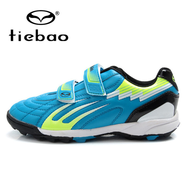 TIEBAO 2016 New Kids Design Hard Court Football Boots Brand Trainers Sports Shoes Cheap Cleats Sneakers Chuteira Futebol