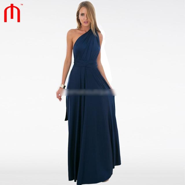 f4c71bd488 The Perfect Date 2.0 Maxi Dress Women Navy blue vestidos femininos long  party dress vestido de festa longo sexy V-neck boho