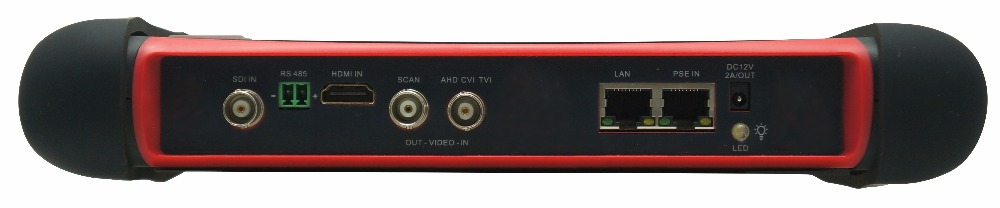 New multi functional X7 wifi cctv tester 4K H.265 IP/Analog/TVI 5MP/ CVI 4MP/ AHD 4MP with HDMI IN/OUT for X7ADHS