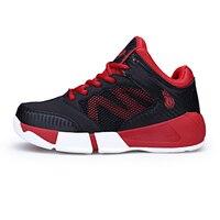2017 New Kids Basketball Shoes Women Kids Lover Air Sport Sneakers Denim Athletic Printed Super Star
