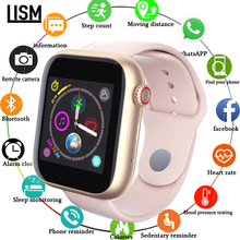 2019 New Smart Watch SIM 2G Android Phone Support TP Card Camera Video Player Bluetooth Call Message For Apple Watch Men Women smart watch men women with sim card camera bluetooth call pedometer message reminder phone watch for apple android amazfit gtr