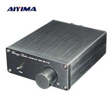 Aiyima TDA7498E Bộ Khuếch Đại Kỹ Thuật Số 160WX2 Stereo Khuếch Đại Âm Thanh 2.0 Công Suất Amplificador Độ Biến Dạng Thấp Loa Rạp Hát Tại Nhà Tự Làm
