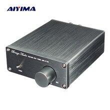 Amplificador digital aiyima .pdf wx2, amplificador de som estéreo 2.0, baixo distorção, home theater, diy