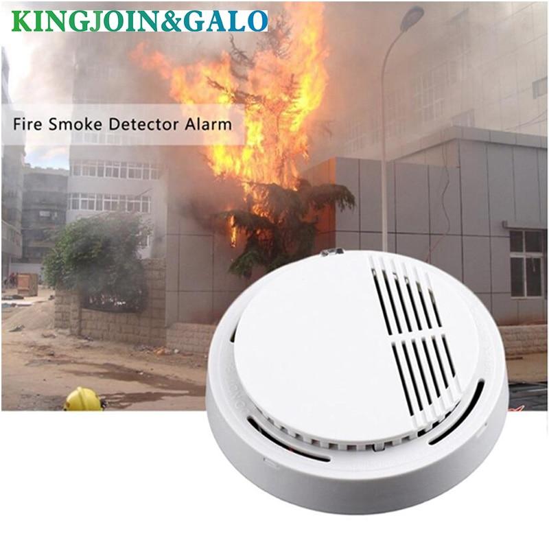 Wired Smoke Detector Electronic Smoke Sensor For Home Burglar GSM / Wifi / Other Alarm System