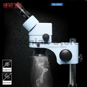 Image 1 - Wozniak SS 033C mikroskop ışık kaynağı halka ışık kaynağı beyaz ışık kaynağı abajur anahtarı kontrol 110V 220V