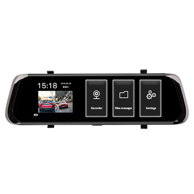 Phisung F800 Car DVR 10in Touch Car Rear View Camera Night Vision Reversing Auto Parking Monitor 16:9 HD Video with 16G TF Card kaweida 16g tf