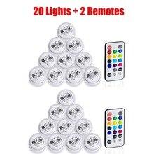 20 Teile/los Freies shpping Tauch Wasserdichte LED Mini Lichter für Chinesischen Runde Papier Laterne Hochzeit Party Floral Luftballons