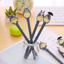 40 pcs/Lot Cute cartoon gel pen My Neighbor Totoro Black ink color pens Office material school supplies Stationery items EB822