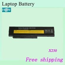 Высокое качество 0A36281 0A36282 0A36283 Аккумулятор для ноутбука LENOVO ThinkPad X220 X230 Тетрадь батареи