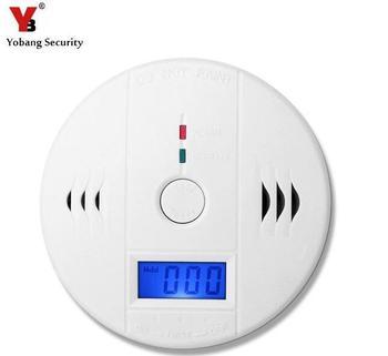 Niezależne LCD CO tlenku węgla czujniki amp Alarm Security Protection alarm pożarowy czujnika CO detektor zatrucia węgla tanie i dobre opinie Detektory tlenku węgla FDL-CO408 Yobang bezpieczeństwa