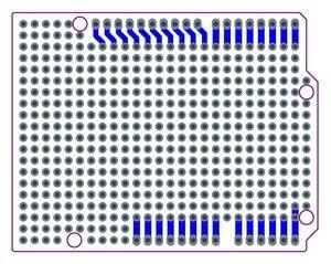 Image 3 - الشحن مجانا (10 قطعة/الوحدة) prototype pcb ل uno r3 درع مجلس diy