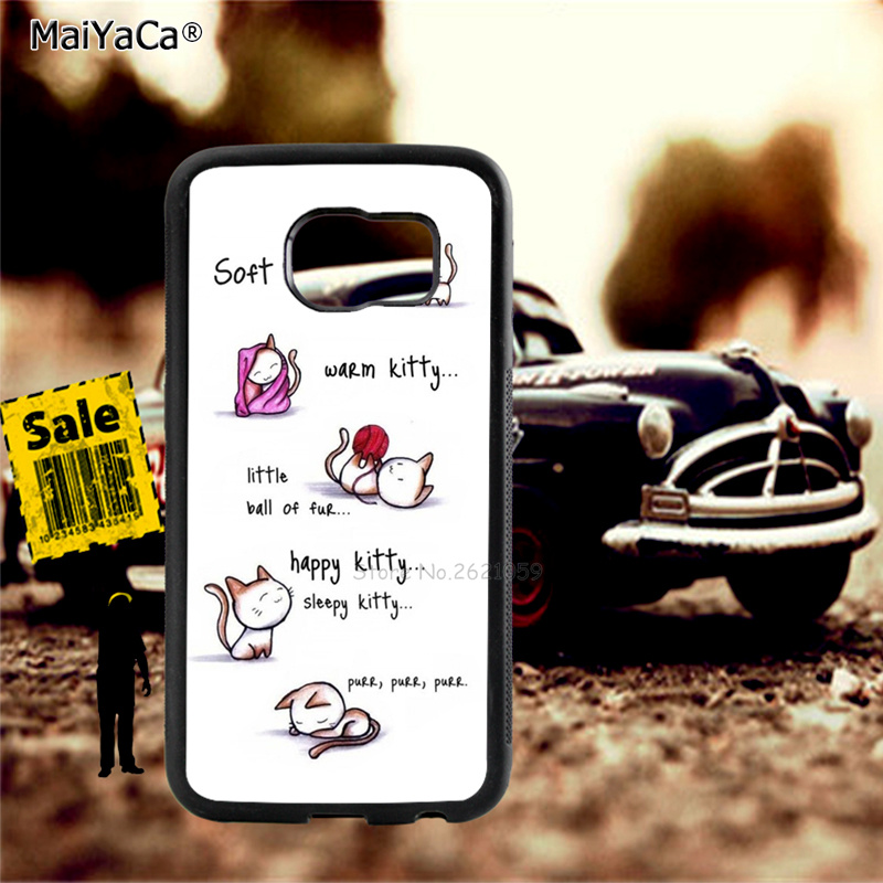 happy cats soft kitty song soft phone cases for samsung s5 s6 s6edge plus s7 s7edge s8 s8plus s9 s9plus note8 note5 cover case