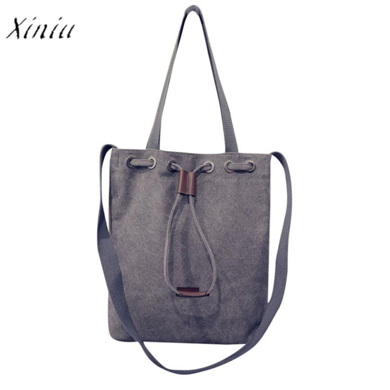 Women's Canvas Handbag Shoulder Messenger Bag Ladies Satchel Tote Purse Bags  Handbags Bag Bolsa Feminina
